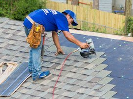 Columbia roofer replacing a roof