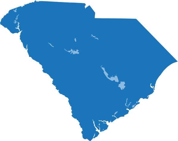 Service Areas Premiere Roofing South Carolina